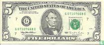 Verenigde Staten 5 dollars 1995 G