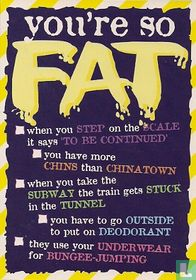 """S000167 - HATE #2/4 """"you're so Fat"""""""