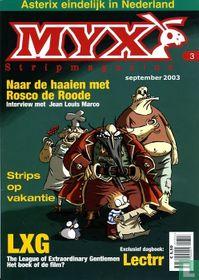 Myx stripmagazine 1e jrg. nr. 3
