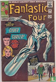 The Startling Saga of the Silver Surfer!