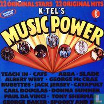 K-Tel's Music Power 22 Original Stars 22 original Hits