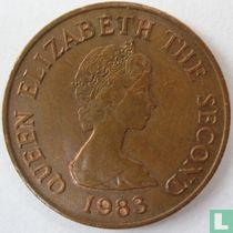 Jersey 2 pence 1983