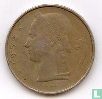 België 1 franc 1952 (FRA)