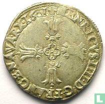 France ¼ ecu 1601 (L)