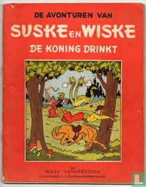 De koning drinkt
