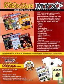 Dirkjan staat elke maand in Myx Stripmagazine