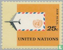 Vliegtuig en envelop
