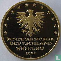 """Duitsland 100 euro 2007 (PROOF - G) """"Lübeck"""""""