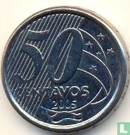 Brazilië 50 centavos 2005
