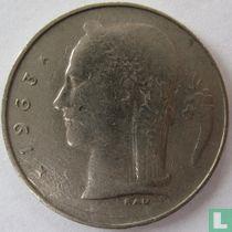 België 1 franc 1963 (FRA)