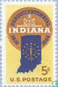 Sesquicentennial of Indiana Statehood