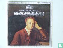 Händel - Orgel Concerten Opus 7