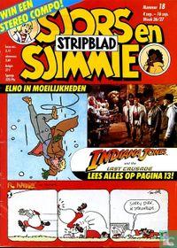 Sjors en Sjimmie stripblad 18