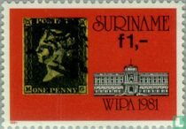 Stamp exhibition WIPA