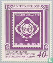 Postal administration UNO 1951-1991