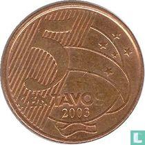 Brazilië 5 centavos 2003