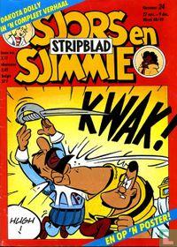 Sjors en Sjimmie stripblad 24