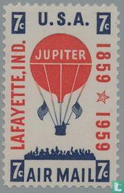 100 years of balloon post