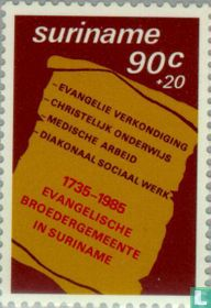 Moravian Church 1760-1987