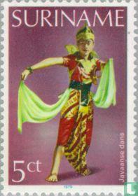 Javanese dance costume