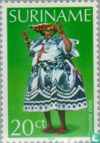 Creole dance costume
