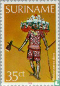 Hindu dance costume