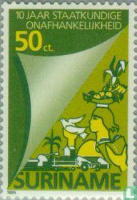 Independence Anniversary 1975-1985