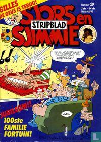 Sjors en Sjimmie stripblad 20