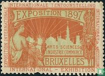 Naar sluitzegels Internationale tentoonstelling Brussel 1897