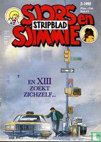 Sjors en Sjimmie stripblad 2