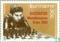 Wereldtitel schaken Kasparov