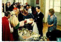 Doop / christening prince Carlos 1970