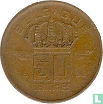 België 50 centimes 1952 (FRA)