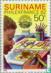 Stamp Exhibition Philexfrance