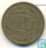 Dominicaanse Republiek 5 centavos 1984