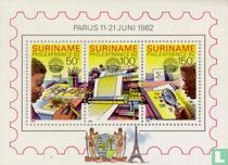 Stamp Exhibition Philexfrance