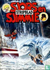 Sjors en Sjimmie stripblad 6