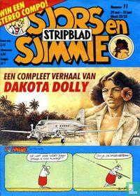 Sjors en Sjimmie stripblad 11