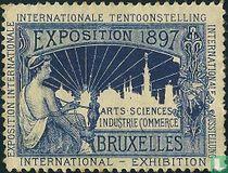 Naar Sluitzegel Internationale tentoonstelling Brussel