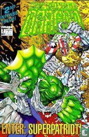 Savage Dragon enter Superpatriot