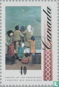 Immigranten uit Oekraïne