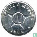 Cuba 2 centavos 1984