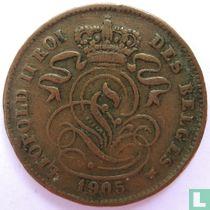 België 2 centimes 1905 (FRA)