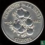 "Cuba 1 peso 1982 ""FAO - World Food Day"""