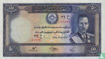 Afghanistan 50 Afghanis 1939