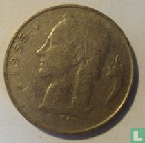 België 1 franc 1955 (NLD)