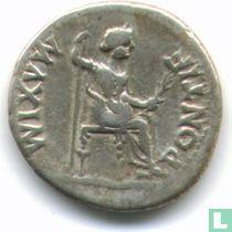 Romeinse Keizerrijk Denarius van Keizer Tiberius 16-37 n. Chr