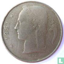 België 1 franc 1951 (FRA)