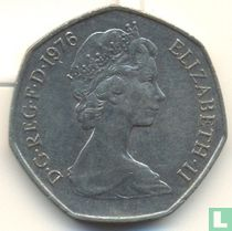 Verenigd Koninkrijk 50 new pence 1976