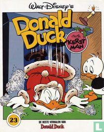 Donald Duck als kerstman